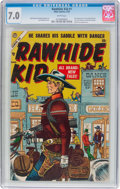 Golden Age (1938-1955):Western, Rawhide Kid #1 (Marvel, 1955) CGC FN/VF 7.0 White pages....
