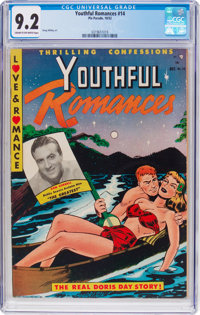 Youthful Romances #14 (Pix Parade, 1952) CGC NM- 9.2 Cream to off-white pages