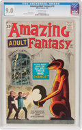 Silver Age (1956-1969):Science Fiction, Amazing Adult Fantasy #10 (Marvel, 1962) CGC VF/NM 9.0 Off-whitepages....
