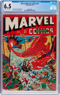 Golden Age (1938-1955):Superhero, Marvel Mystery Comics #47 (Timely, 1943) CGC FN+ 6.5 Cream to off-white pages....