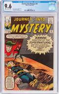 Silver Age (1956-1969):Superhero, Journey Into Mystery #91 (Marvel, 1963) CGC NM+ 9.6 Cream to off-white pages....