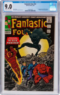 Silver Age (1956-1969):Superhero, Fantastic Four #52 (Marvel, 1966) CGC VF/NM 9.0 Off-white to white pages....