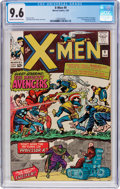 Silver Age (1956-1969):Superhero, X-Men #9 (Marvel, 1965) CGC NM+ 9.6 Cream to off-white pages....