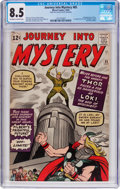 Silver Age (1956-1969):Superhero, Journey Into Mystery #85 (Marvel, 1962) CGC VF+ 8.5 Off-white towhite pages....