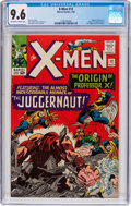 Silver Age (1956-1969):Superhero, X-Men #12 (Marvel, 1965) CGC NM+ 9.6 Off-white to white pages....