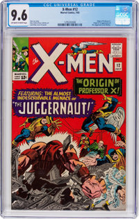 X-Men #12 (Marvel, 1965) CGC NM+ 9.6 Off-white to white pages