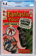 Silver Age (1956-1969):Superhero, Fantastic Four #16 (Marvel, 1963) CGC NM 9.4 Off-white to whitepages....
