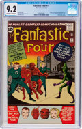 Silver Age (1956-1969):Superhero, Fantastic Four #11 (Marvel, 1963) CGC NM- 9.2 Off-white to white pages....