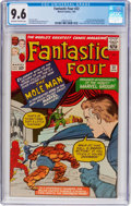 Silver Age (1956-1969):Superhero, Fantastic Four #22 (Marvel, 1964) CGC NM+ 9.6 Off-white to whitepages....