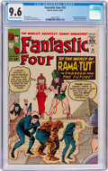 Silver Age (1956-1969):Superhero, Fantastic Four #19 (Marvel, 1963) CGC NM+ 9.6 Off-white to whitepages....