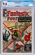 Silver Age (1956-1969):Superhero, Fantastic Four #17 (Marvel, 1963) CGC NM+ 9.6 Off-white pages....