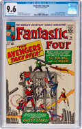 Silver Age (1956-1969):Superhero, Fantastic Four #26 (Marvel, 1964) CGC NM+ 9.6 Off-white pages....