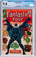 Silver Age (1956-1969):Superhero, Fantastic Four #46 (Marvel, 1966) CGC NM/MT 9.8 Off-white to white pages....