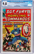 Silver Age (1956-1969):Superhero, Sgt. Fury and His Howling Commandos #13 (Marvel, 1964) CGC NM/MT 9.8 Off-white pages....
