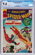 Silver Age (1956-1969):Superhero, The Amazing Spider-Man #17 (Marvel, 1964) CGC NM+ 9.6 Off-white to white pages....