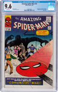 Silver Age (1956-1969):Superhero, The Amazing Spider-Man #22 (Marvel, 1965) CGC NM+ 9.6 Whitepages....