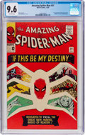 Silver Age (1956-1969):Superhero, The Amazing Spider-Man #31 (Marvel, 1965) CGC NM+ 9.6 Off-white pages....