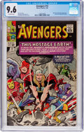 Silver Age (1956-1969):Superhero, The Avengers #12 (Marvel, 1965) CGC NM+ 9.6 Off-white pages....