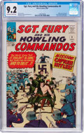 Silver Age (1956-1969):War, Sgt. Fury and His Howling Commandos #9 (Marvel, 1964) CGC NM- 9.2 Off-white to white pages....