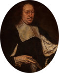 Fine Art - Painting, European, Circle of Justus Sustermans . Portrait of a Gentleman. Oil on canvas. 32-3/4 x 26-1/8 inches (83.2 x 66.4 cm). PROVENA...