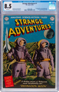 Golden Age (1938-1955):Science Fiction, Strange Adventures #1 (DC, 1950) CGC VF+ 8.5 White pages....