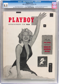 Playboy #1 (HMH Publishing, 1953) CGC VF+ 8.5 Off-white to white pages