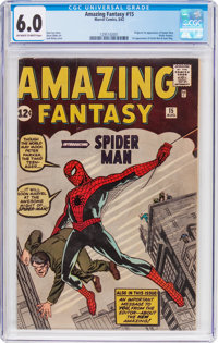 Amazing Fantasy #15 (Marvel, 1962) CGC FN 6.0 Off-white to white pages