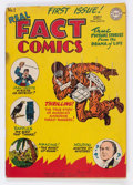 Golden Age (1938-1955):Non-Fiction, Real Fact Comics #1 (DC, 1946) Condition: FR/GD....