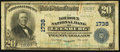 National Bank Notes:Virginia, Leesburg, VA - $20 1902 Plain Back Fr. 653 The Loudoun NB Ch. #1738. ...