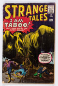 Silver Age (1956-1969):Horror, Strange Tales #75 (Marvel, 1960) Condition: FR....