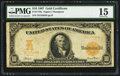 Large Size:Gold Certificates, Fr. 1170a $10 1907 Gold Certificate PMG Choice Fine 15.. ...