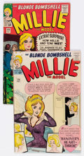 Silver Age (1956-1969):Romance, Millie the Model #114 and 133 Group (Marvel, 1963-65).... (Total: 2 Comic Books)