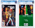 Modern Age (1980-Present):Miscellaneous, X-Men and She Hulk CGC-Graded Group of 2 (Marvel, 2006-08).... (Total: 2 Comic Books)