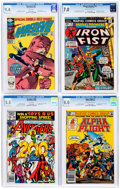 Modern Age (1980-Present):Miscellaneous, Marvel Bronze/Modern Age CGC-Graded Group of 4 (Marvel, 1974-83).... (Total: 4 Comic Books)
