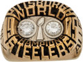 Football Collectibles:Others, 1975 Pittsburgh Steelers Super Bowl X Championship Ring Presented to Safety Jimmy Allen.. ...