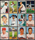 Baseball Cards:Lots, 1951 Bowman Baseball Collection (12). . ...
