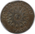 Colonials, 1785 C NOVA Nova Constellatio Copper, Pointed Rays, Large Date MS63 Brown PCGS. Crosby 3-B, W-1895, R.2....
