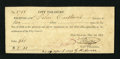 Obsoletes By State:Louisiana, New Orleans, LA- City Treasury Tax Receipt $2 May 1, 1832. This partly printed issued receipt was for yearly taxes on proper...