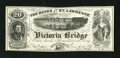 "Canadian Currency: , Montreal, PQ- Banks of the St. Lawrence 20 Views circa 1860s. Thisis a great advertising note that plays on the word ""Banks..."