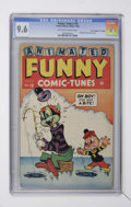 "Golden Age (1938-1955):Funny Animal, Funny Tunes #18 Davis Crippen (""D"" Copy) pedigree (Timely, 1944)CGC NM+ 9.6 Off-white to white pages...."