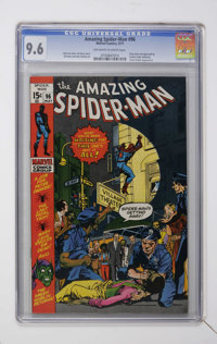 The Amazing Spider-Man #96 (Marvel, 1971) CGC NM+ 9.6 Off-white to white pages