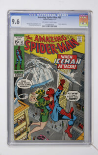 The Amazing Spider-Man #92 (Marvel, 1971) CGC NM+ 9.6 Off-white to white pages