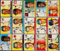 Baseball Cards:Lots, 1955 Topps Baseball Collection (15). . ...