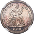 Proof Seated Dimes, 1879 10C PR66 Ultra Cameo NGC....