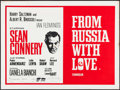 """Movie Posters:James Bond, From Russia with Love (United Artists, R-1960s). British Quad (30"""" X 40"""") & Photo (8"""" X 10""""). James Bond.. ... (Total: 2 Items)"""