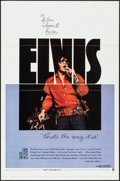 "Movie Posters:Elvis Presley, That's the Way It Is (MGM, 1971). Flat Folded, Fine/Very Fine. OneSheet (27"" X 41""). Elvis Presley.. ..."