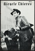 """Movie Posters:Foreign, The Bicycle Thieves (ENIC, 1948). Program (10 Pages, 5.5"""" X 8.25""""). Foreign.. ..."""