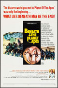 "Movie Posters:Science Fiction, Beneath the Planet of the Apes (20th Century Fox, 1970). One Sheet (27"" X 41""). Science Fiction.. ..."
