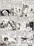 Original Comic Art:Panel Pages, Al Williamson Tales From The Crypt #31 Story Page 3 OriginalArt (EC, 1952)....