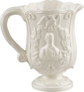 Political:3D & Other Display (pre-1896), Abraham Lincoln: Rare Circa 1864-1865 Softpaste Pitcher...